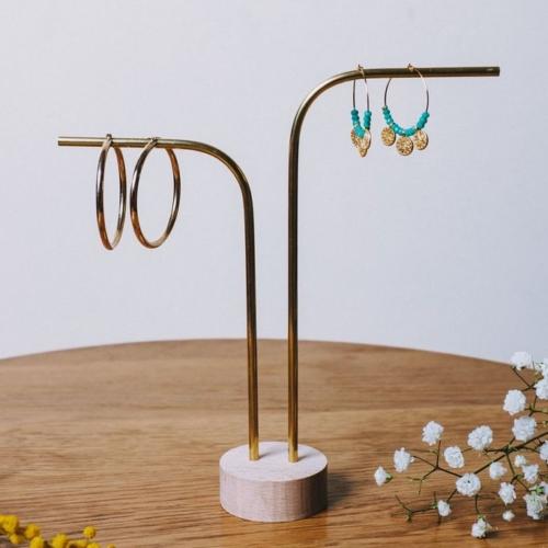 Anea | 2 tiges non percées | Support à bijoux professionnel |