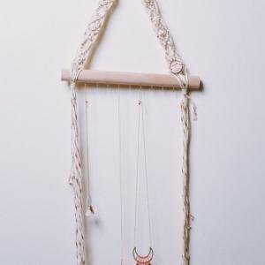 porte-collier-macramé