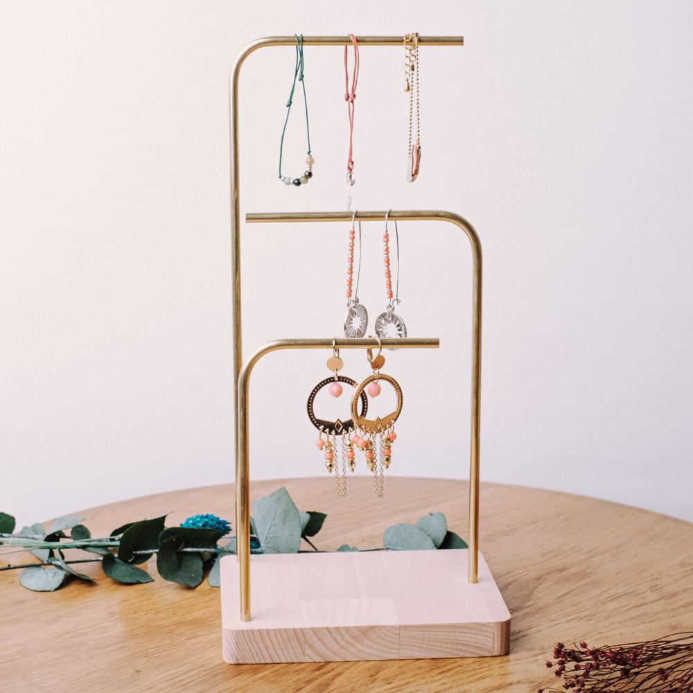 Haut Holm 3 | Porte bracelets et boucle d'oreilles |