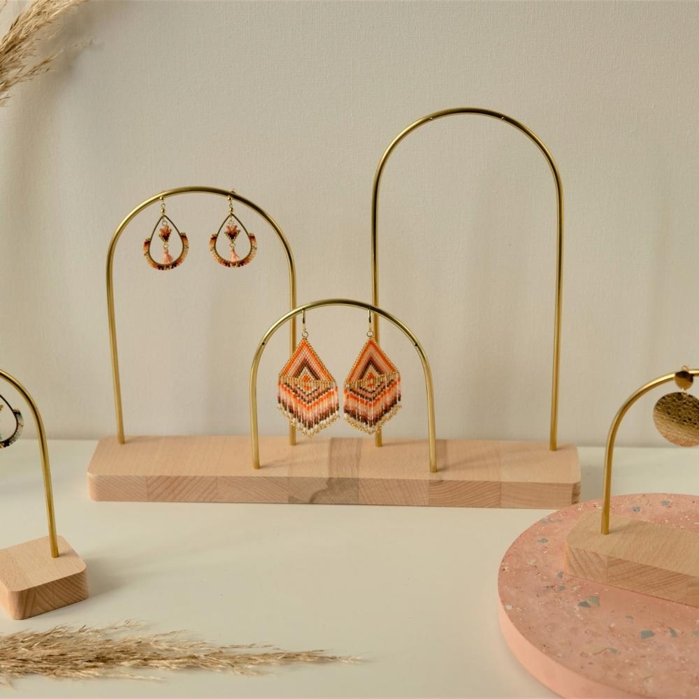 Maya tripple | Porte boucle d'oreille