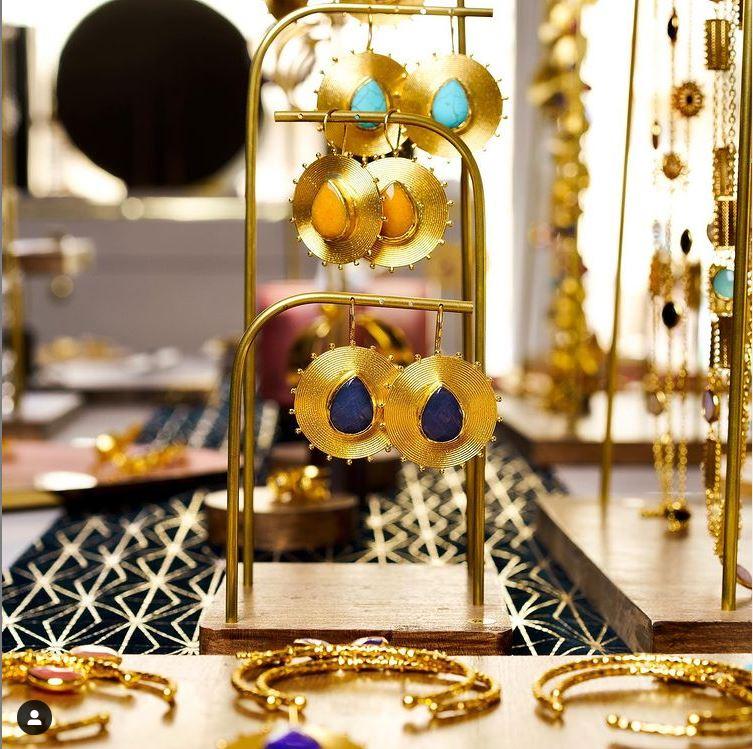 porte-bijoux-or